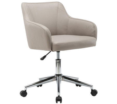 Techni Mobili Comfy and Classy Adjustable HomeOffice Chair
