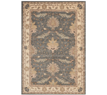 "Nourison India House Blue 6'6"" x 9'6"" Area Rug"