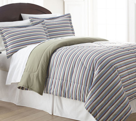 Shavel Micro Flannel King Comforter Mini Set