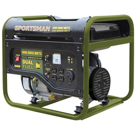 Sportsman 4000 Watt Dual Fuel Generator