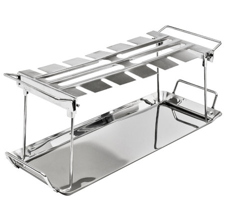 Sorbus 12 Slot Chicken Leg Grill Stand