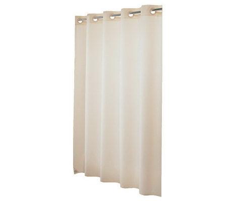 Hookless Pin Dot Vinyl Shower Curtain