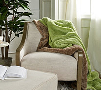 "Berkshire Blanket S/2 60"" x 70"" Super Soft Fluffie Throws - H212234"