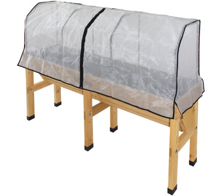 VegTrug Medium Wall Hugger Micro Mesh Cover