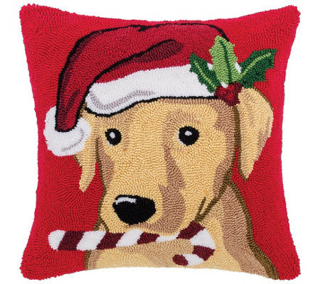 Labrador Christmas Pillow By C F Home