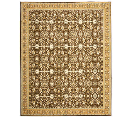 "Treasures Bordered Persian Power-Loomed 5'1"" x8' Rug"