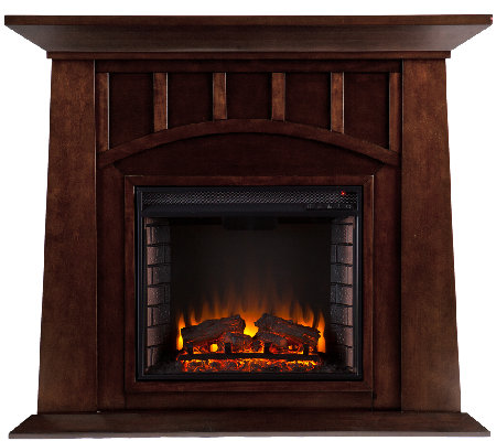 Wilton Electric Fireplace - Espresso