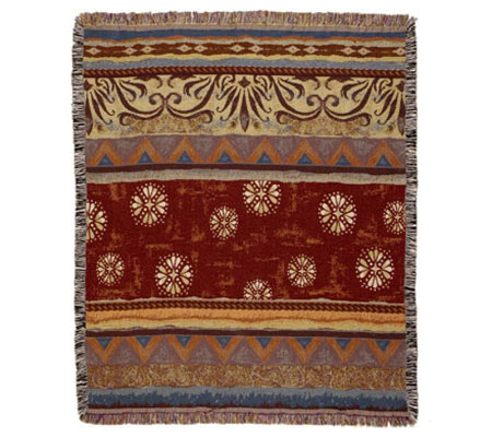 Santa Fe Tapestry Throw by Simply Home