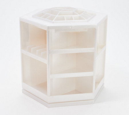 Tabletop Spinning Cosmetic Organizer by Lori Greiner