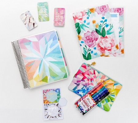 image regarding Erin Condron titled Erin Condren Coiled LifePlanner Package with Equipment