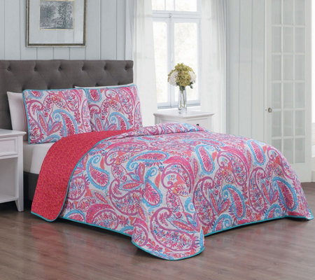 Avondale Manor Seville 3-Piece King Quilt Set