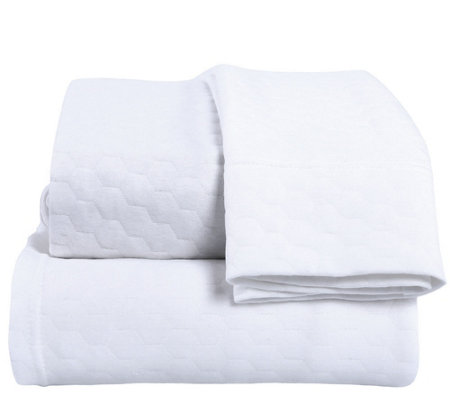 Berkshire Blanket Triple Knit Cotton Blend TwinSheet Set