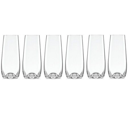 Lenox Tuscany Classics Set Of 6 Stemless Champagne Flutes