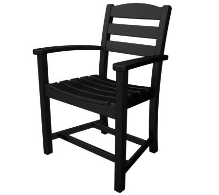 POLYWOOD La Casa Cafe Dining Chair with Arms