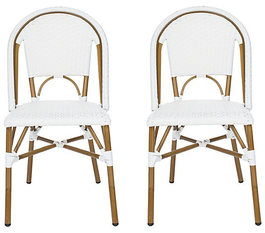Salcha I/O French Bistro Side Chairs (Set of 2)by Safavieh