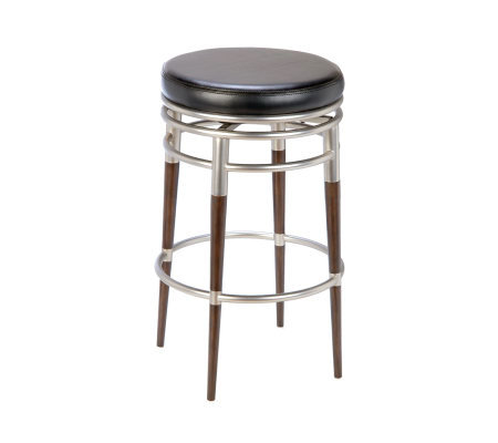 Hillsdale House Salem Backless Swivel Counter Stool