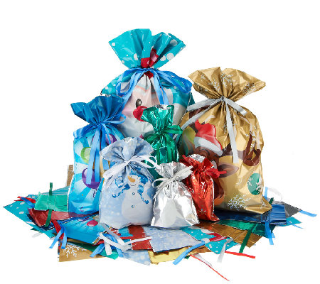 Qvc 72 Pc Gift Bags Set
