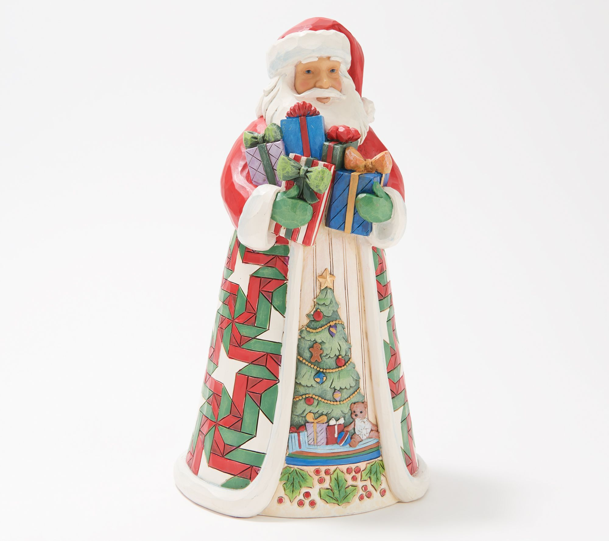 HARLEY DAVIDSON CHRISTMAS CARDS #X425 SANTA BEAR WITH GIFTS ON HARLEY 10