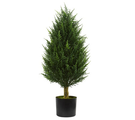 3 Cypress Tower Artificial Tree By Nearly Natural