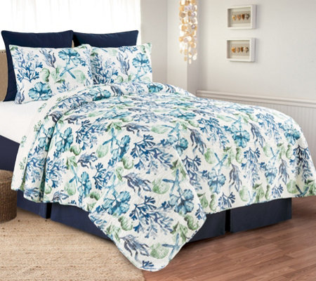 Bluewater Bay Twin Quilt Set by Valerie