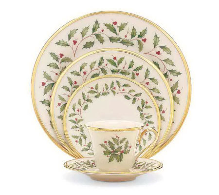 Lenox Holiday 5-piece Place-setting Set