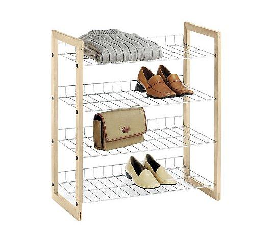 Whitmor Wire Closet Shelves Qvc Com