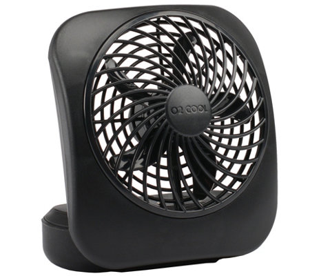 "O2Cool 5"" Portable Two-Speed Fan"