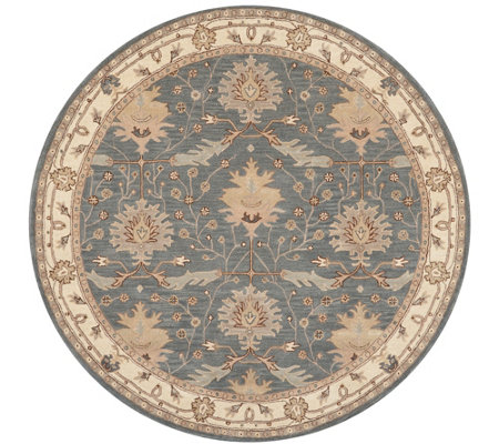 Nourison India House Blue 8' Round Area Rug