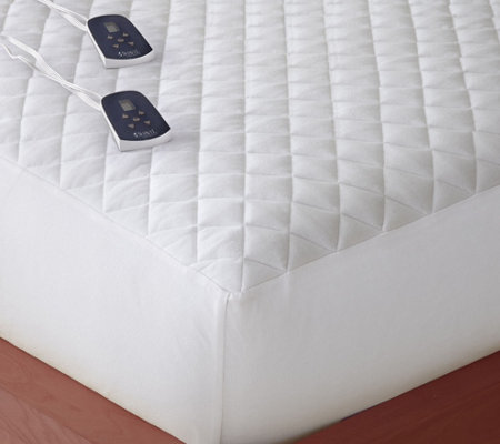 Shavel Micro Flannel Twin Electric Mattress Pad