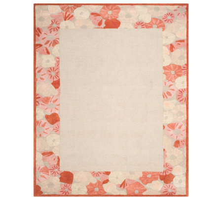 Martha Stewart Poppy Border 8' x 10' Rug