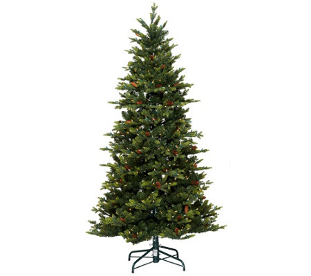 Bethlehem Lights 9' Noble Spruce Christmas Tree w/Instant Power