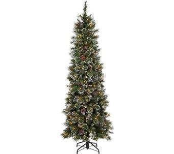 5 Glistening Pine Incandescent Slim Tree By Valerie H212738