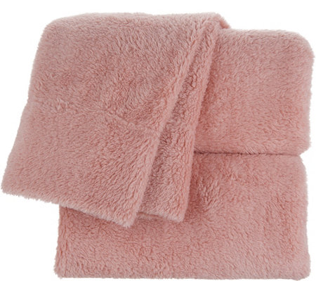 17a9085c92 Berkshire Blanket Fluffie Queen Sheet Set - Page 1 — QVC.com