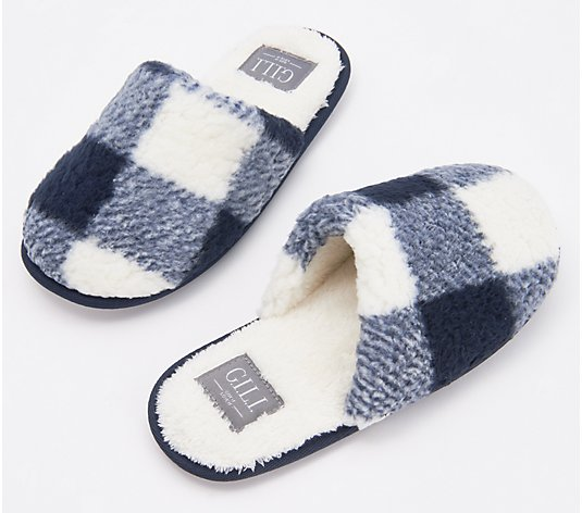 G.I.L.I. Got It Love It Plush Sherpa Slippers