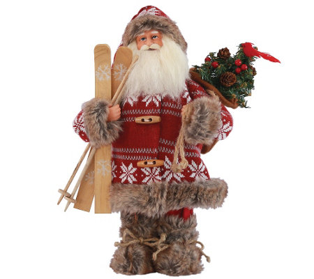 "15"" Snowbound Santa by Santa's Workshop"