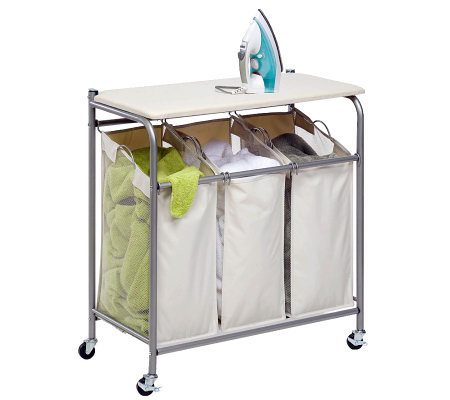 Honey-Can-Do Ironing and Sorter Combo Laundry Center