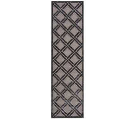 "Graphic Illusions 2'3"" x 8' Rug by Nourison"