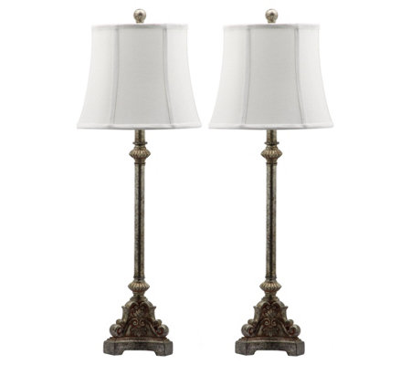 "Rimini 33.5"" Console Table Lamps by Valerie"