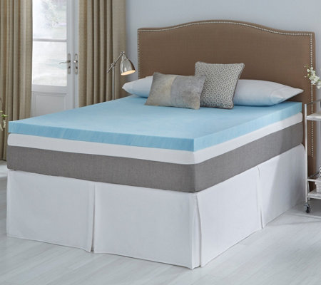 Comfort Escape 3 Tailored Gel Memory Foam Topper Qn Firm