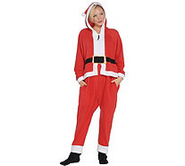 Forever Lazy Fleece Adult Onesie with Pocket, Hood & Removable Feet - H216540