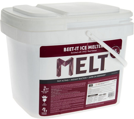 Snow Joe 25-lb Beet-It Ice Melter Bucket withScooper