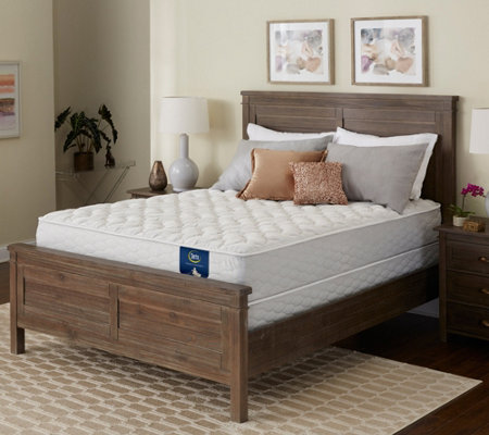 Serta Brookgate Cushion Firm Twin Mattress Set