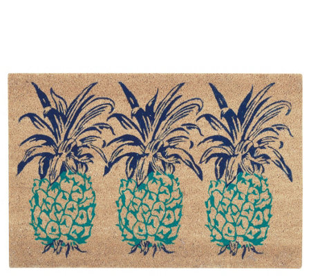 Waverly Greetings Pineapple 2' x 3' Accent Rugby Nourison