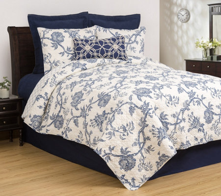 Arcadia King Quilt Set by Valerie