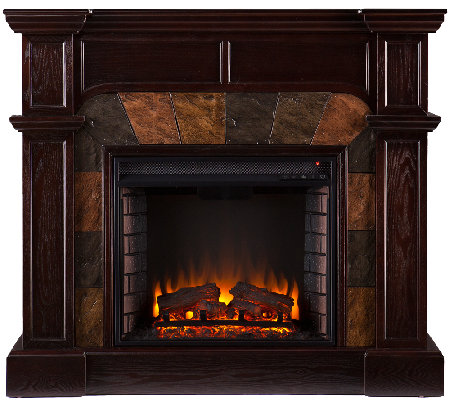 Quincy Freestanding Ventless Corner/ Wall Electric Fireplace
