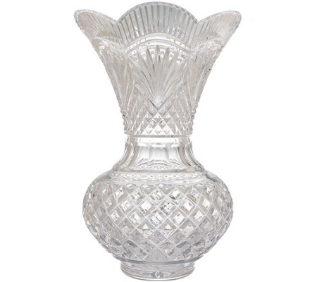 Waterford Crystal House Of Waterford Alainn 12 Vase Page 1 Qvc
