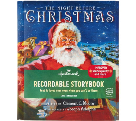 Hallmark Choice of Story Recordable Storybook w/ Voice Save Tech
