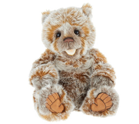 "Charlie Bears Collectible 15.5"" Chatterbox Plush Bear"
