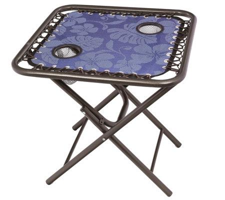 Bliss Hammocks Foldable Sling Side Table