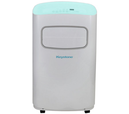 Keystone 115V Portable Air Conditioner 400-Sq Ft Room & Remote
